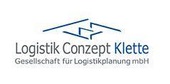 Logistik Conzept Klette