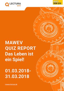 MAWEV Quiz 2018 statistics