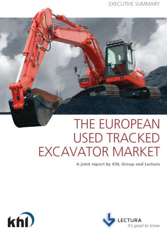 The European Used Tracked Excavator Market Report - English version