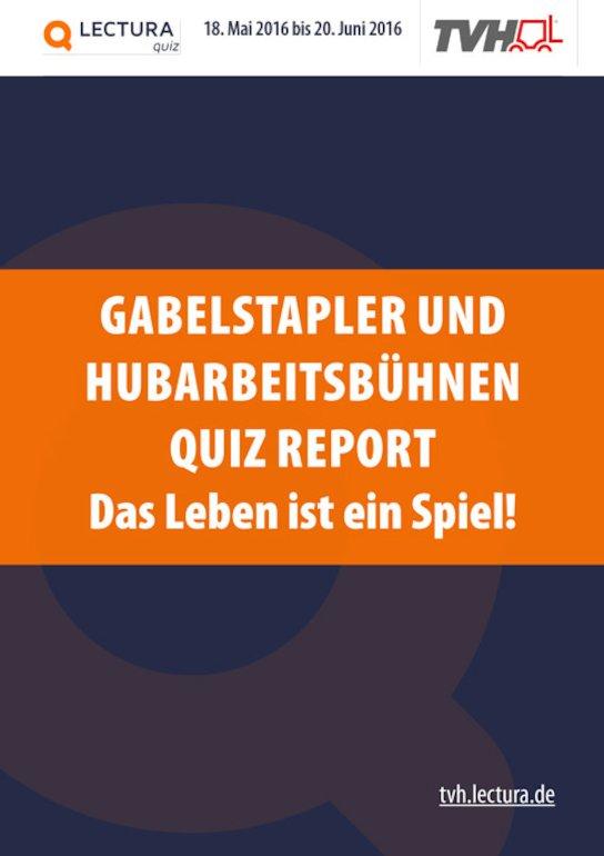 Gabelstapler und Hubarbeitsbühnen Quiz 2016 - Bericht zur Markenerkennung