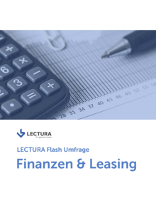 LECTURA Flash Umfrage – Finanzen & Leasing