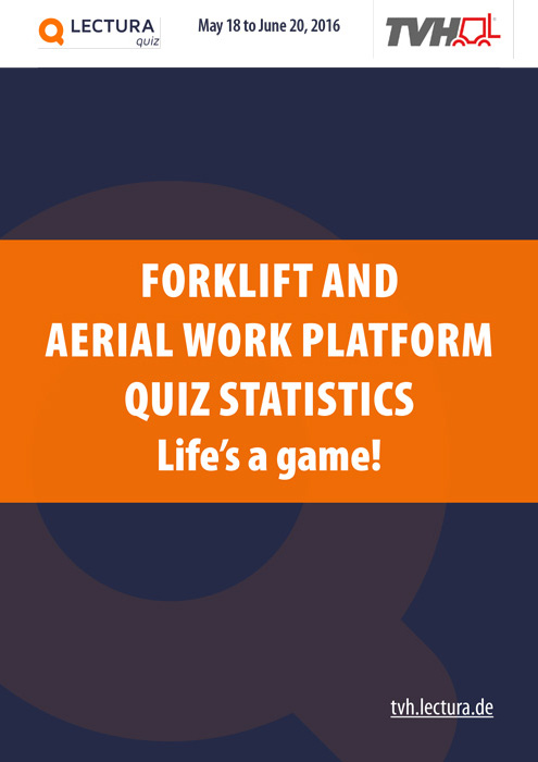 FORKLIFT AND AERIAL WORK PLATFORM QUIZ statistics